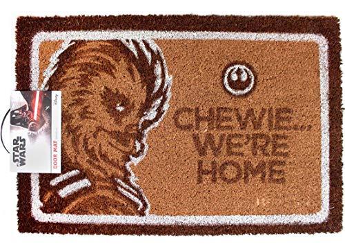 STAR WARS Chewie. Estamos casa Felpudo | Mercancía