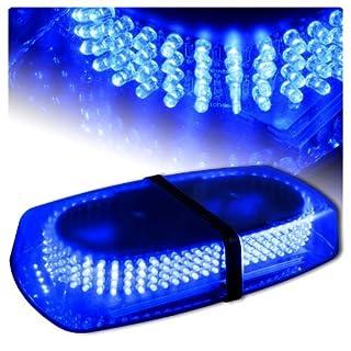 Aurnoc LED Amber helles 240-LED Stroboskop Blitzlicht für das Auto LKW Konstruktion Warnaufsteller Notfall Blitzmodi 7 Sicherheit
