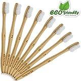 MitButy Bambus Zahnbürste [8er-Packung] weiche...
