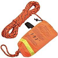 Shoreline Marine Rescue Überwurf Seil, 1/4-Zoll x 50-feet