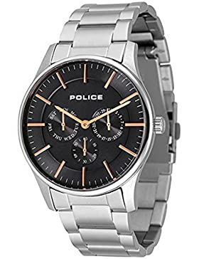 Police Analog Black Dial Men's Watch-PL14701JS02MJ