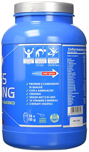 Ultimate Italia Mass B Building Gainer, Cacao - 1800 gr - 51O9JQVsbPL