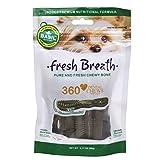 #10: Basil Fresh Breath Dental Dog Chew Bone (Pack of 2)