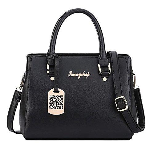Borse spalla borsa di modo signore sacchetti del messaggero delle donne Blu Blu Nero