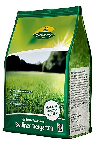 Rasensamen - Berliner Tiergarten 2,5 kg von Quedlinburger Saatgut