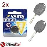 2x VARTA Schlüssel Batterie für Ford Fiesta Focus Mondeo Transit Autoschlüssel