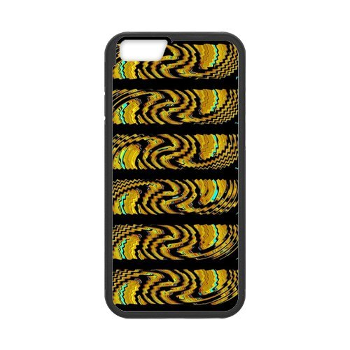 Custom Luxury Design Rubber TPU Case Cover For iPhone 6, iPhone 6 Coque de style Art Déco