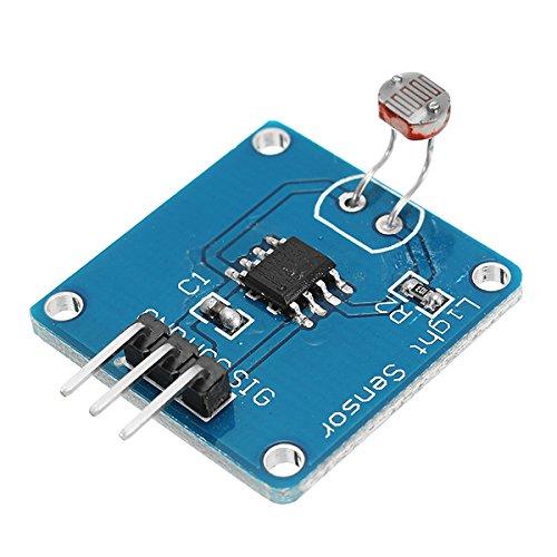 ROUHO Sensore di Luce Modulo Sensore Fotosensibile Luce Modulo di Sensore di Intensità della Luce di Bordo per Arduino