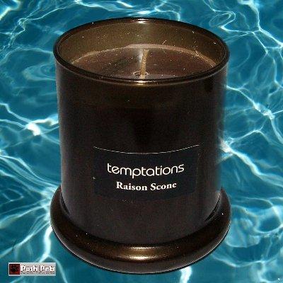 Temptations Bougie parfumée Pot de Scone raison