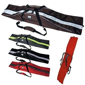 """PAUL KURZ Snowboardtasche """"Explorer"""" für Boards bis 178 cm Länge – Schaumgepolsterte Boardbag mit Rucksack-Tragesystem – in 4 Farben lieferbar"""