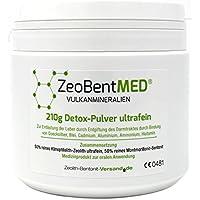 ZeoBent MED Detox-Pulver ultrafein 210 g, CE zertifiziertes Medizinprodukt preisvergleich bei billige-tabletten.eu