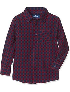 TOM TAILOR Jungen Hemd Basic Skater Check Shirt