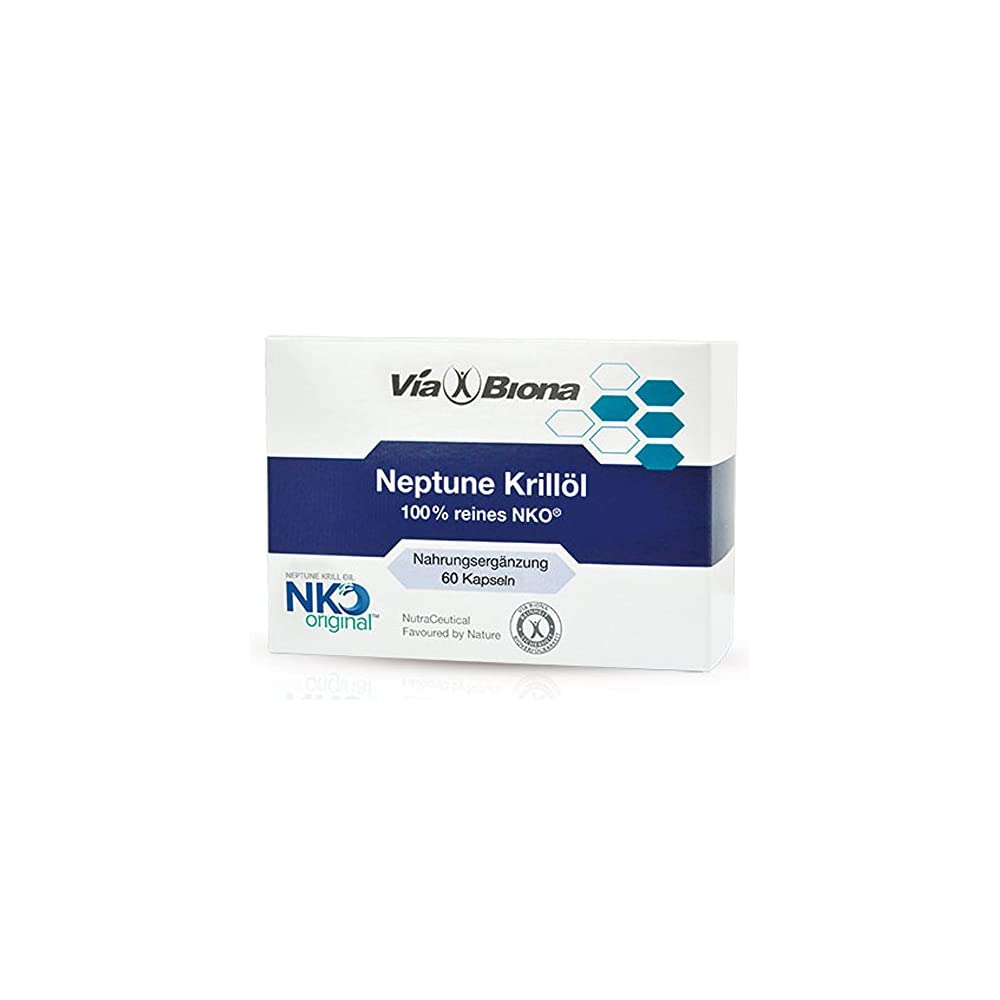 Original Nko Neptune Krilll Hchstdosiertes Antarktisches Omega 3 Omega 6 Omega 9 Neu 60 Licaps Softgels Maximale Resorption