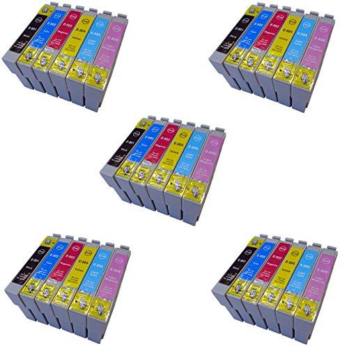 Prestige Cartridge T0801-T0806 (T0807) Cartucce d'Inchiostro Compatibile per Stampanti Epson