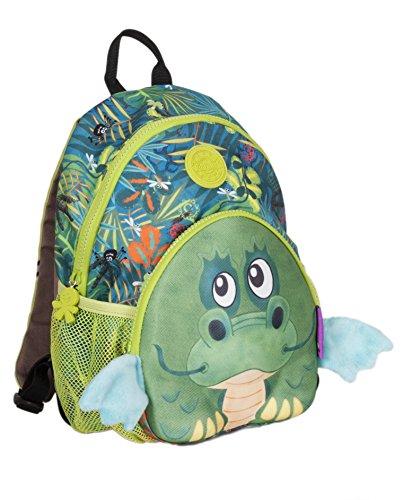 okiedog wildpack junior 86002 zainetto per bambini con cinta pettorale...