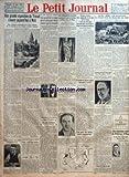 petit journal le no 23229 du 22 08 1926 une grande exposition du travail s ouvre aujourd hui a metz une eclatante manifestation du retour definitif de la lorraine et de l alsace a l unite francaise par emile hinzelin heros d une macabre mystific