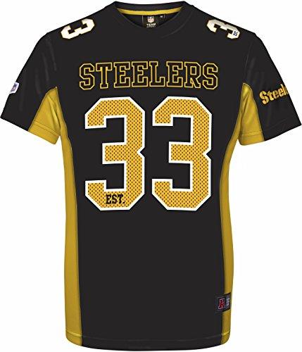 buy popular e73dd 7abf5 Majestic NFL PITTSBURGH STEELERS Moro Mesh Jersey T-Shirt, Größe:L