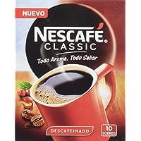 Nescafé - Café soluble descafeinado - 20 g (10 sobres ...