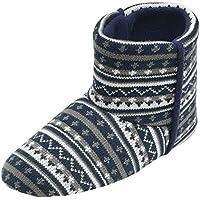 """Dunlop Pantofole da uomo """"Bobby"""", in stile nordico, articolo lavorato"""