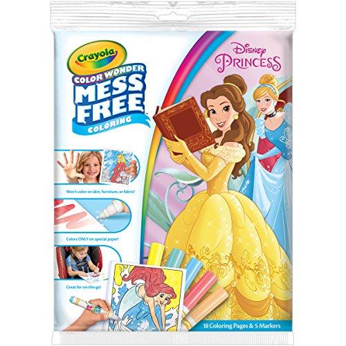 Crayola Disney-Prinzessin Ausmalbuch mit Filzstiften