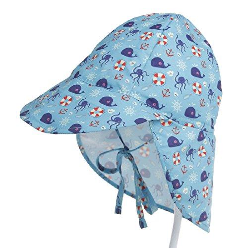 Boomly Niños Bebé Sombrero El Sol UV50 + Proteccion