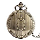 Taschenuhr Halskette Mechanisch Impressum DXNSPF Retro Mode Dekoration , 3