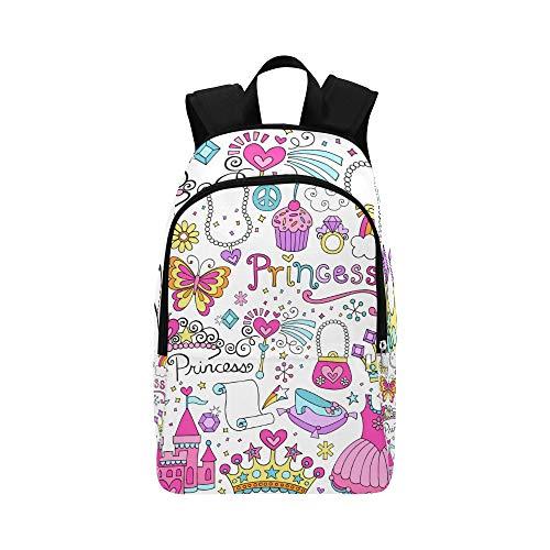 Regelmäßige Parallelogramm-Muster-beiläufige Daypack-Reisetasche College School-Rucksack für Männer und ()