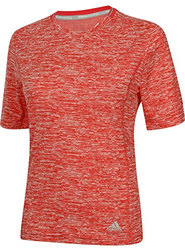 adidas Damen Shirt Supernova Short Sleeve, Pink, M, AC2103 Preisvergleich