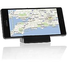 soporte de carga - SODIAL(R)soporte de tabla magnetico de cargador de datos de sincronizacion para Sony Xperia Z3