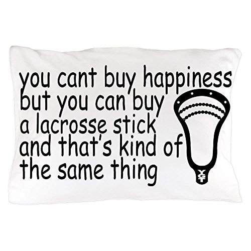 quanzhouxuhuixiefu Lacrosse Happiness - Standard Size Pillow Case, 20