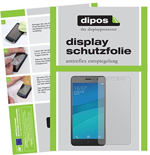 dipos I 2X Schutzfolie matt passend für Hisense L695 Folie Bildschirmschutzfolie