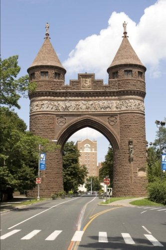Soldiers and Sailors Memorial Arch in Hartford Connecticut Journal: 150 Page Lined Notebook/Diary