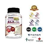 BAJA TU COLESTEROL - Reduce los Niveles de Colesterol LDL y Aumenta El Nivel HDL - Formula Completa - Levadura Arroz Rojo + Coenzima Q10 + Resveratrol + Mango Africano + Vitamina D - 60 cápsulas