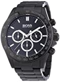 Hugo Boss - 1512961- Ikon - Montre Homme - Quartz Analogique - Cadran Noir - Bracelet