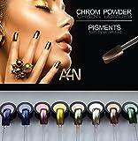 Chrom Powder Kupfer, Chrom Effekt Nägel, Spiegel Pulver, Pigment