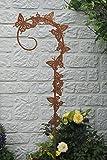 Schmetterling Gartenstecker Deko Rostoptik 120 cm