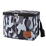 Aosbos 7.5L Kühltasche Thermotasche Mittagessen Tasche Leichte Lunchtasche für Arbeit Schule Lunch Bags Mit Schultergurt