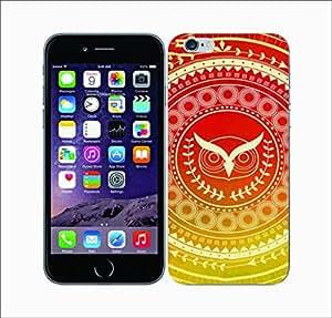 Galaxy Printed 2524 Olympian Mandala Owl Hard Cover for Apple Iphone 5