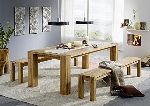 Table Bois Massif - Berlin table de salle à manger chêne