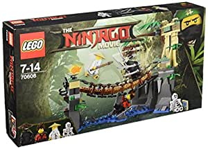 lego 70608 lego ninjago jeu de construction le pont de la jungle jeux et jouets. Black Bedroom Furniture Sets. Home Design Ideas