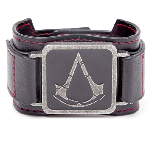 Assassins Creed PS4 Xbox Rogue logo Official metal patch Wristband One Size