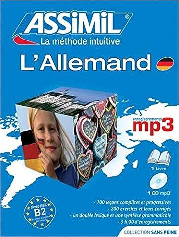L'Allemand ; Livre + CD
