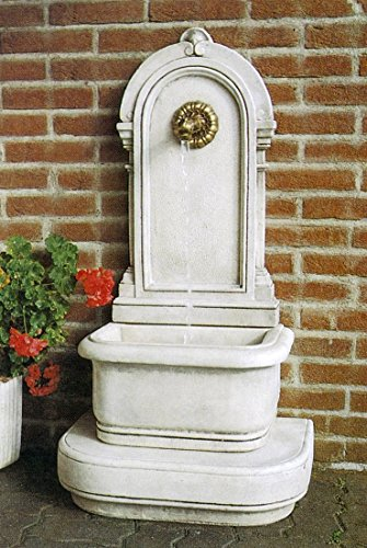pompidu-living Wandbrunnen ANTICA H 112 Farbe Terracotta