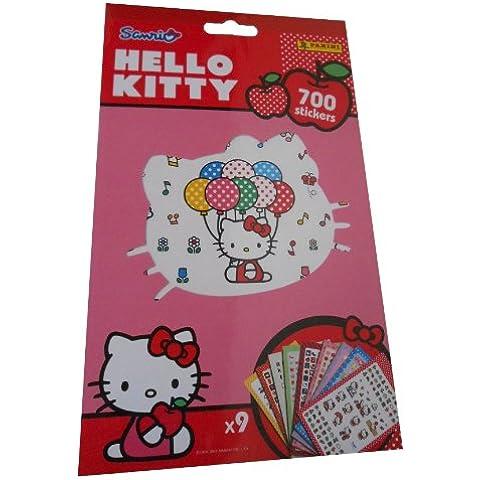 Panini - Adesivi gioco Ciao Kitty (Ciao Kitty Carta)