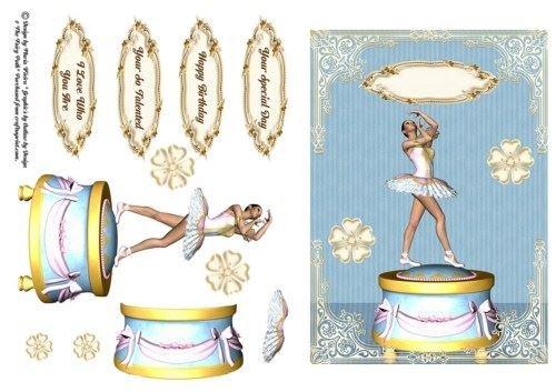 Ballerina Music Box by Maria Cristina Vieira