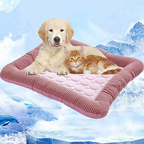 Kühlkissen für Haustiere,Volwco Selbstkühlende Matte, Kühlgel, Gel-Haustierbett für Hunde,...
