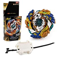 Christ For Givek Beyblade Burst Wrestling Masters Devouring Dragon Fusion Spinning Top Spinning Top Gyro and Plastic Launcher Speedy Toy and Gifts Interesting for Kids( B-122)