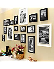 Painting Mantra Set Of 16 Individual Black And White Photo Frame