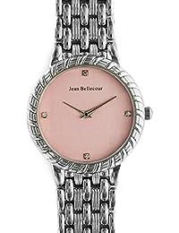 Reloj mujer JEAN Bellecour en acero rosa 34 cm reds21-sp
