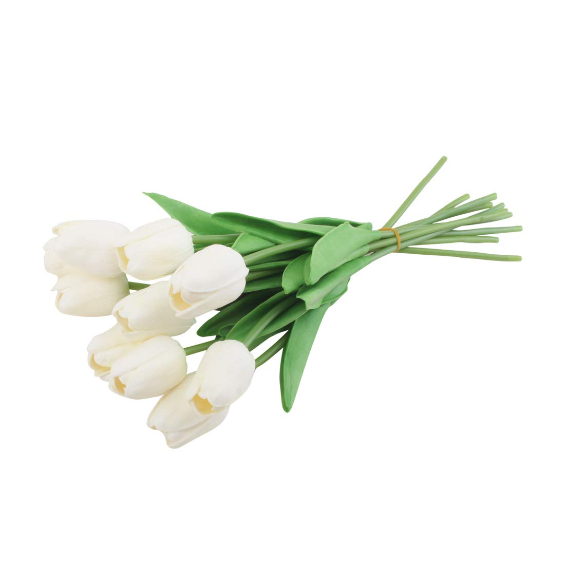 32cm artificial verdadero toque PU Tulipanes Flor Boda Fiesta Nupcial Decoración del hogar NUEVO